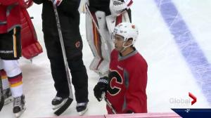 Johnny Gaudreau returns to Calgary Flames