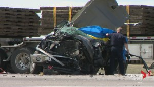 Deadly crash near Didsbury