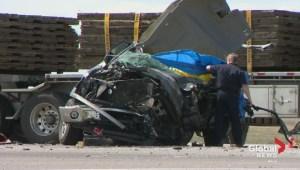 Deadly crash near Didsbury