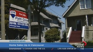 BIV: Home sales up in Vancouver