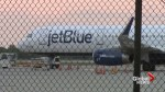 FAA investigating fire aboard a JetBlue flight that reportedly emanated from laptop battery