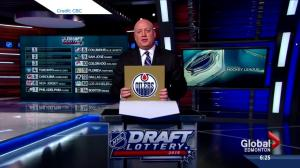 Edmonton Oilers win NHL draft lottery