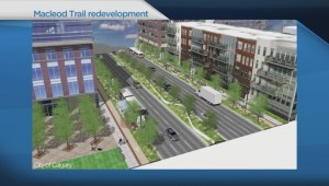 Potential Macleod Trail redevelopment plans