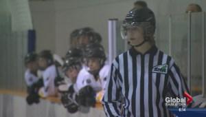 Parental penalties down, hockey referee numbers up in Saskatoon