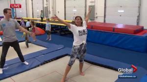 Gymnastics isn't just for kids