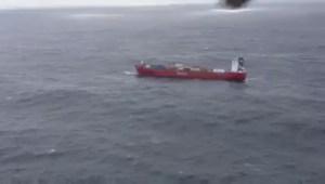 Raw: Russian ship adrift