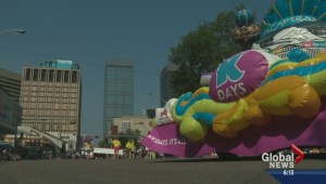 K-Days parade takes over downtown Edmonton