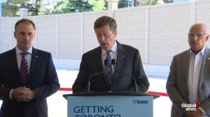 John Tory says new round of TTC service improvements shows his commitment to transit