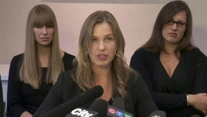 Riveting de Groot family news conference