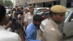 Indian men sentenced to life in prison for rape of tourist escorted out of courthouse