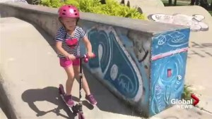 New Brunswick Department of Health launches programs to encourage more kids to wear helmets