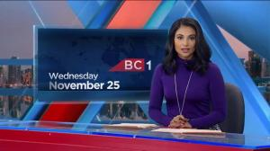 BC1 Morning Headlines: Nov. 25