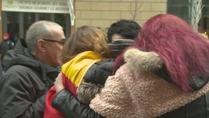 Montrealers hold vigil for Brussels