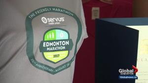 Servus Edmonton Marathon 2017 medal unveiled
