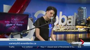 Charlie performs 'Ghost' on Morning News