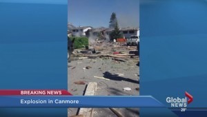 Explosion in Canmore
