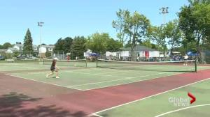 Kirkland tennis, basketball courts under construction