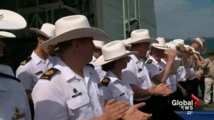 HMCS Calgary celebrates 20 years on the water