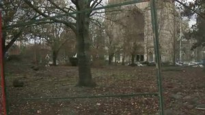 Victoria's former tent city site to be turned into a playground