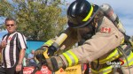 Fort McMurray firefighters enjoying springing into action in Calgary