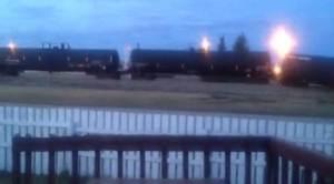 CN train derails after crashing into semi truck near Peace River, Alberta