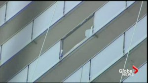 Falling glass from high rise buildings might be due to substandard manufacturing