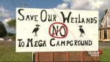 Mega campground opposition