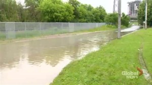 Heavy rains in Toronto lead to flooding and road closures