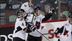Calgary Hitmen on a red hot streak