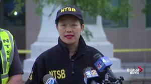 Safety board to begin investigation of New Jersey train crash; to look at speed, breaking, mechanics