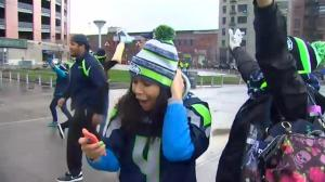 Seattle Seahawks fans who left early forced to watch historic comeback from outside stadium