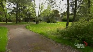 A look at a Bridle Path area property that's rumored to be ready for a Drake renovation.