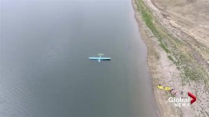 Small plane crashes into southern Alberta's Pine Coulee Reservoir