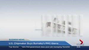 BIV: U.S. chip maker buys PMC-Sierra, Burnaby appeals NEB pipeline