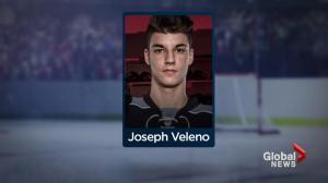 Young hockey player Joe Veleno hailed as next Sidney Crosby