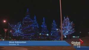 Lights to brighten Edmonton winters?