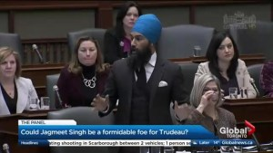 Could Jagmeet Singh give Justin Trudeau a run for his money?