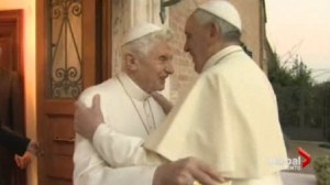 World Cup 2014, a battle between two popes