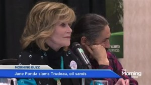 Jane Fonda slams Justin Trudeau