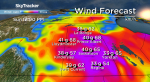 Saskatoon weather outlook: warm, windy weekend with 70 km/h gusts
