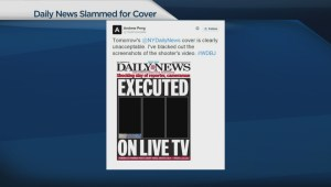 New York Daily News under fire for controversial cover