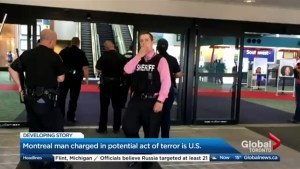 Canadian charged in potential U.S. Terror Attack
