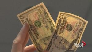 Counterfeit American cash in Nova Scotia