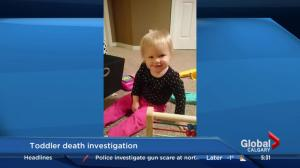 Calgary toddler death investigation
