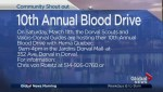 Community Events: 10th Annual Blood Drive