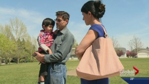 Saskatoon family united after government grants visa to son