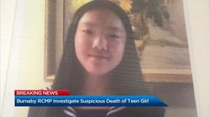 RCMP identify teenage girl found dead in Burnaby Central Park