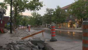NDG construction takes over Monkland Avenue