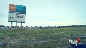 Alberta school projects delayed