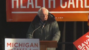 Bernie Sanders headlines rally in support of Obamacare